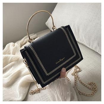 Luxury Handbags Women Bags Designer Shoulder Bag Crossbody Bag For Women 2019 Handle Stylish Chain Small Flap Tote Messenger Bag фото