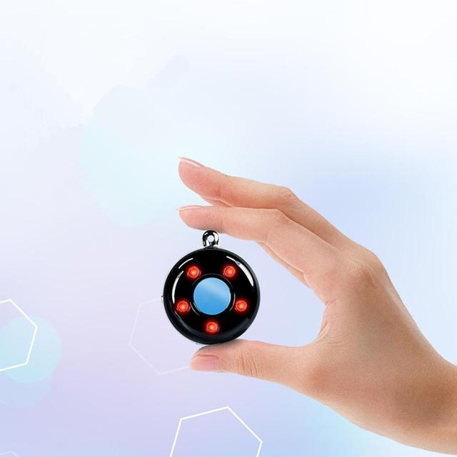 Portable Laser Hidden Camera Finder Anti Spy Camera Detector Anti-Theft Vibration Alarm for Personal Safe K100 3