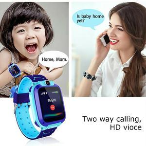 Image 5 - ساعة ذكية للأطفال بشاشة لمس 1.44 بوصة مقاومة للمياه مع خاصية تتبع المواقع للأطفال ساعة ذكية للتحدث من أجل Setracker2