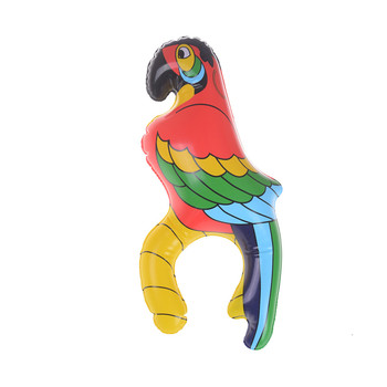 1Pc FUNNY Inflatable Blow Up Parrot Hawaiian Tropical Pirate Party Decoration Toy Kids Cognitive Floating Toys - discount item  30% OFF Classic Toys