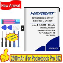 100% original hsabat 2250 mah CS-PTK602SL bateria para pocketbook pro 602/603/612/902/903/912/920/(China)