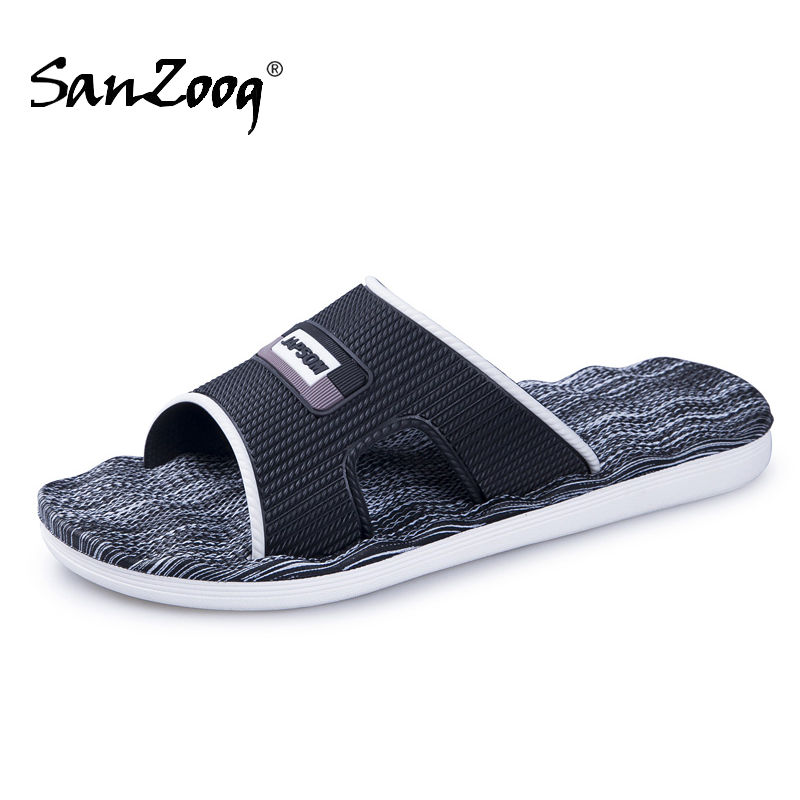 New Mens Slippers Indoor Nice Non-Slip Home Bathroom Slippers For Man Woman Unisex Massage Badslippers Summer Beach Slides Men