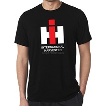Case Ih International Harvester Klassische Logo T-shirt Landwirtschaft T Shirt Herren Casual Stil Bodenbildung T-shirt Tops