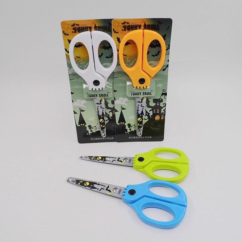 [Deli] (2 Pieces/Lot) Novelty School Office Supplies Craft Scissors For DIY Scrapbooking Album Photo Paper Card Cutter No.6064
