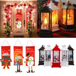 Image 5 - Joyeux noël cadeau sacs arbre de noël en plastique sac demballage flocon de neige noël boîte de bonbons nouvel an 2021 enfants faveurs sac Noel décor