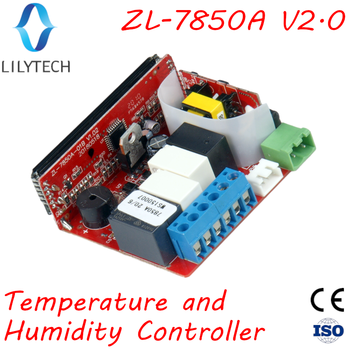 ZL-7850A ver 2.0, Incubator, Cheese or Sausage Deposit, Wet Sauna Control, Humidity Temperature Controller, Hygrostat Thermostat