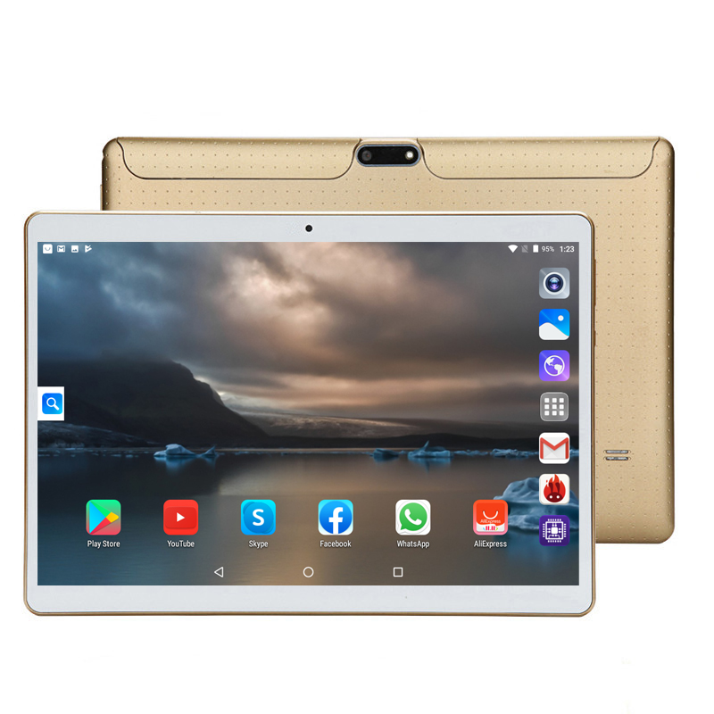 2020 LZWIN T805C MID PC Global Bluetooth Wifi Phablet Android 7.0 10.1 Inch Tablet MTK Core Dual SIM Card Tablet 9 10 CE Band