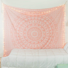 Popular Handicrafts mandala tapestry Hippie boho decor wall carpet psychedelic Home Decoration macrame hanging