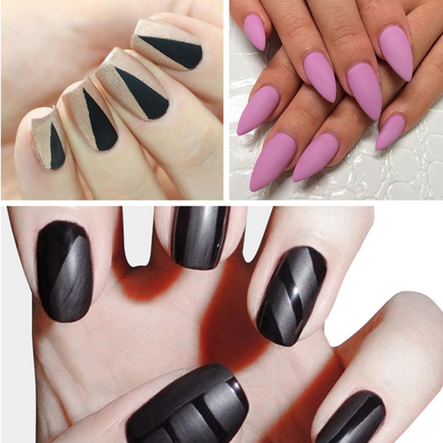 Zation Matte Top Coat Nail Art Uv Gel Lucky for Manicure Easy Cleaning Gel Varnish Lacquer Healthy and Nontoxic Acrylic Glue 5