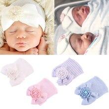 Newborn Baby Hat Toddler Baby Warm Hats Cotton Striped