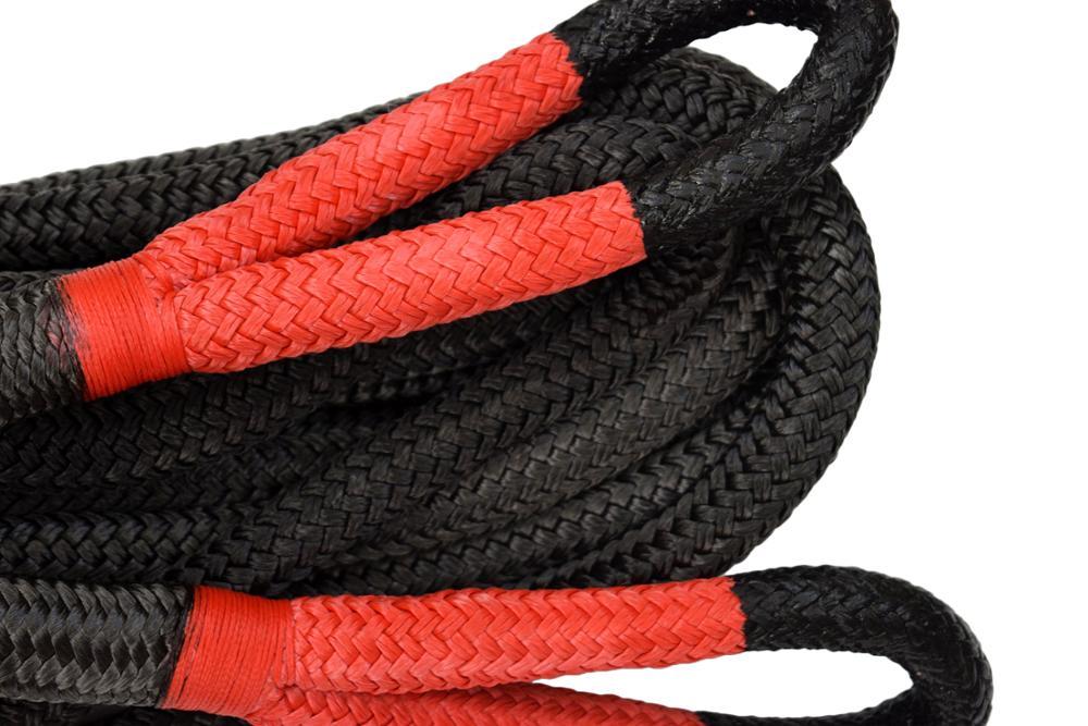 Высокое качество 7/8 * 20 футов двойной плетеный нейлоновый кинетический спасательный канат, 22 мм * 6 м веревка, Буксировочный канат автомобиля - 2