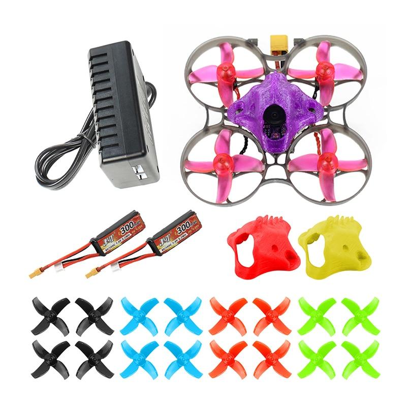 DIY FPV Racing Drone RC Quadcopter BNF mit Mobula7 V3 75MM Rahmen Crazybee F4 Pro V2.1 2 3S Flug Controller SE0802 Motoren Teil - 5