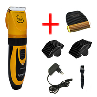 LILI Professional Rechargeable Pet Hair Trimmer for Dog Grooming Electrical Dog Hair Clipper Shaver Set Pets Haircut Machine