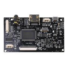 Hdmi + ses 40Pin için LCD sürücü denetleyici kurulu kiti paneli EJ070NA02 1024x768
