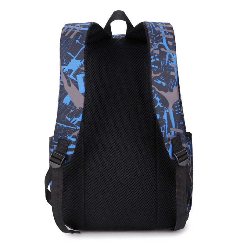AliExpress Supply Of Goods Picture Three-piece Set School Bag Student Backpack Fashion Casual Backpack
