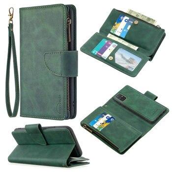 Flip Case Leather 360 Protect Detachable Back Cover for Samsung Galaxy A51 A71 A41 A31 A21S A11 A01 Phone Case A 31 51 71 41 01