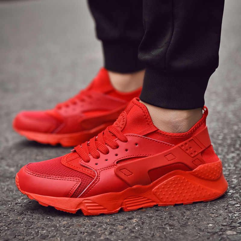 WDHKUN รองเท้าผู้หญิงรองเท้าผ้าใบ Trainers ช่วยเพิ่ม Zapatillas Deportivas Hombre Breathable Lover ลำลองผู้หญิงรองเท้า Sapato ST325