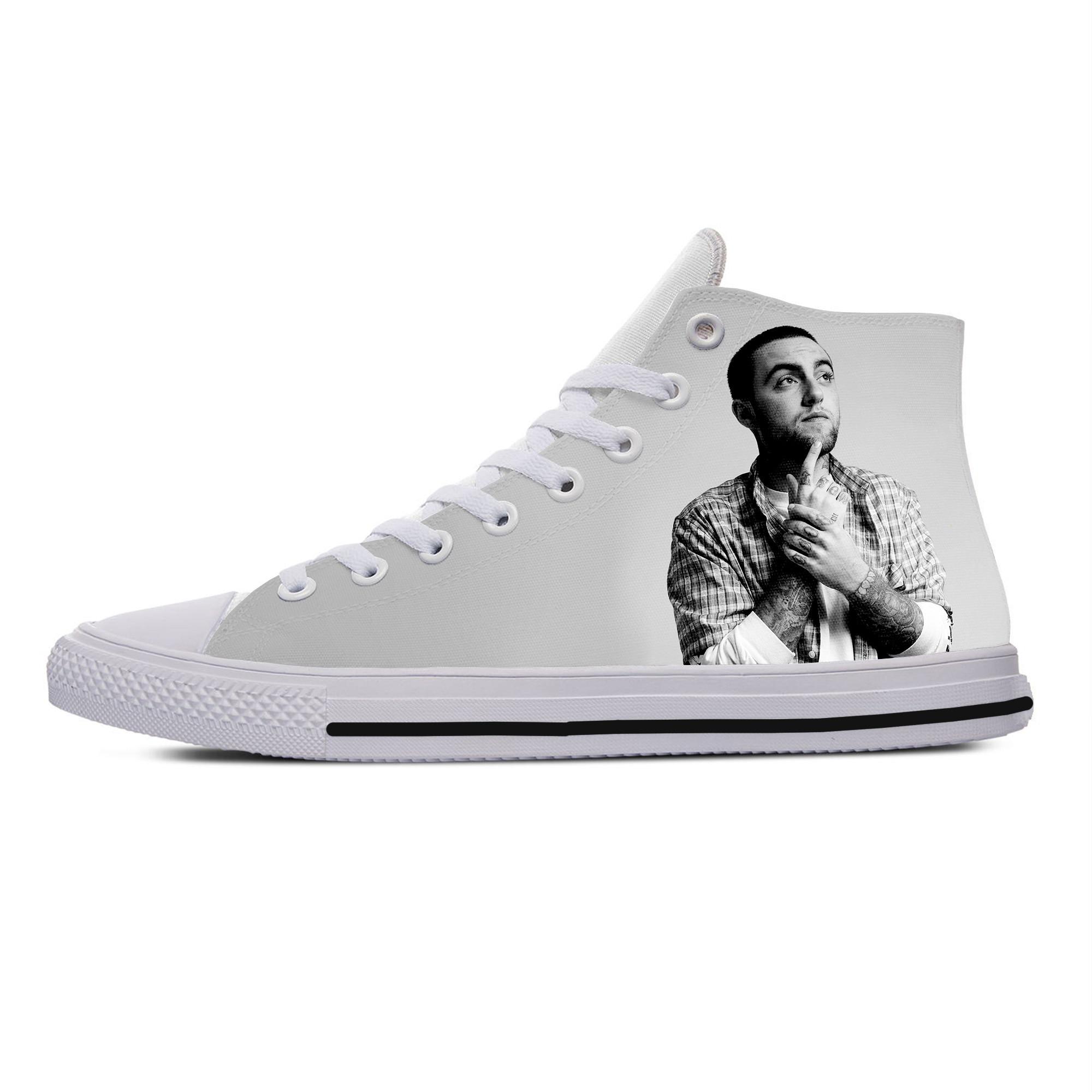 Mac Miller High Sneakers for men/women 1