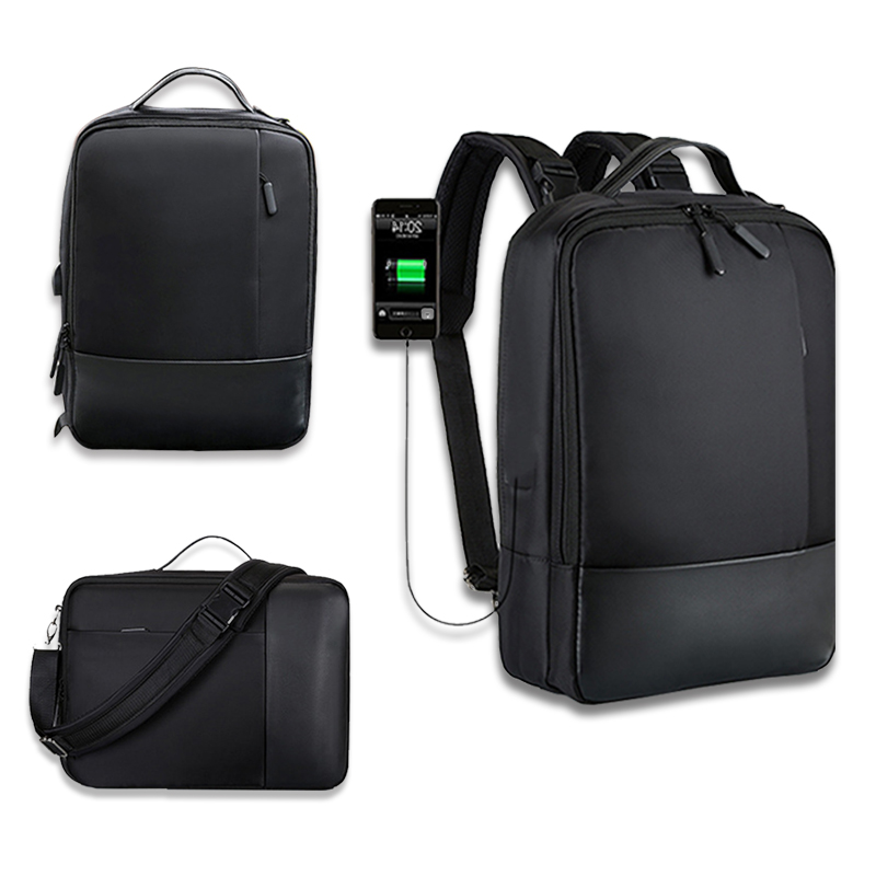 Newest Anti-theft Waterproof USB Charging Port Laptop Backpack Notebook Handbag Case For Macbook Air Pro13-15 Inch Shoulder Bag