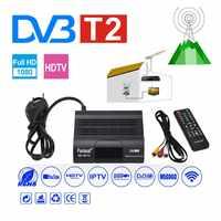 DVB HD-99 T2 Receiver Satellite Wifi Free Digital TV Box DVB T2 DVBT2 Tuner DVB C IPTV M3u Youtube Russian Manual Set Top Box