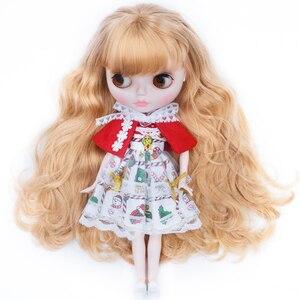 Image 1 - NEO Blyth ตุ๊กตาที่กำหนดเอง NBL SHINY Face,1/6 OB24 BJD Ball Jointed ตุ๊กตา CUSTOM Blyth ตุ๊กตาสำหรับสาว,ของขวัญสำหรับคอลเลกชัน FHYM