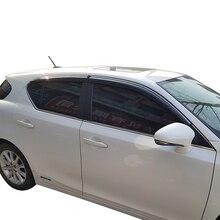 Lsrtw2017 Ppma Material Car Window Rain Shield for Lexus Ct200h 2012 2013 2014 2015 2016 2017 2018 Interior Accessories lsrtw2017 styling interior car floor mat for lexus ct200 ct ct200h 2012 2013 2014 2015 2016 2017 2018 cover accessories ct200