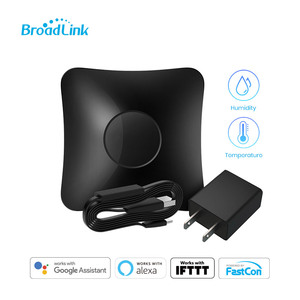 Image 2 - BroadLink RM4 Pro Wi Fi Smart Universal Remote Hub with HTS2 Temp and Humidity Sensor Smart Home Set
