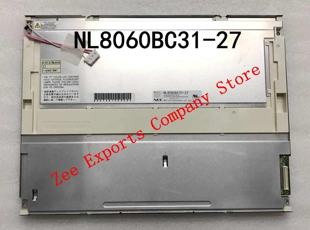 """12.1/""""  inch TFT LCD NL8060BC31-27 LCD CCFL Display Screen FOR NEC 800*600"""