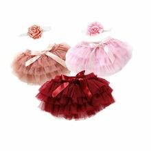 Toddler Baby Girls Layer Ballet Dance Pettiskirt Tutu Skirt Fashion Photo Props