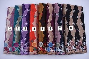 Image 2 - Tanie bawełniany materiał szwajcarski koronkowy woal w szwajcarii z kamieni afryki tkanina koronkowa typu dry Lace wysokiej wysokiej jakości nigeryjski koronki FabricA1692