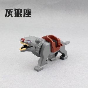 Image 3 - 6Pcs/set New Enlighten Lord of the Rings Hobbit Wolf for Minifigure Bricks Building Blocks Action Figures Toys For Boys Gift