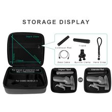 For dji osmo pocket camera storage bag Osmo pocket Portable case PU waterproof Shock absorber bag filter Spare parts box dji osmo pocket case storage bag portable bag module storage compatible with wireless osmo pocket accessories