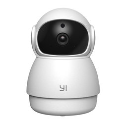 YI Dome Guard Camera 1080P FHD Night Vision 360 Degree Coverage Motion Human Detection Baby Crying Alert WIFI Time Lapse Cloud