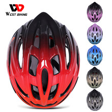 WEST BIKING Ultralight Bike Helmet Adjustable MTB Road Bicycle Helmet Cycling Motorcycle Sport Men Women Safety Cap Protection