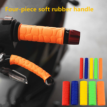 Dirt Pit Bike Handle Bar Grip Parts Racing Moto Handle Grips Rubber For Motocross Accessories Motorcycle Handlebar цена 2017