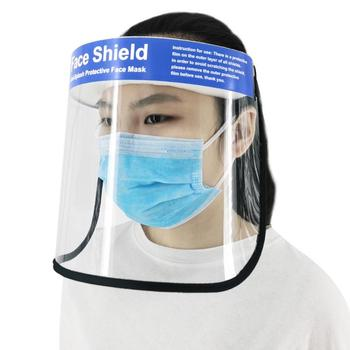 Clear Face Cover and Protective Face Shield with Full Face Visor for Eye and Face Protection