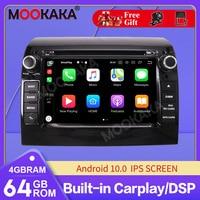 4 + 64G ROM Android coche DVD Multimedia estéreo para la Fiat Ducato 2006 + Citroën Jumper PEUGEOT Boxe Radio GPS Navi Audio estéreo mapa