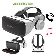 Original 3D VR Virtual Reality Glasses Box Stereo VR Google Cardboard Headset Helmet for IOS Android Smartphone Bluetooth Rocker