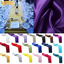 Table Runner Party-Supply Dinner-Tablecloth Satin Wedding Home-Decoration Event Luxury