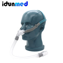 Bmc cpap travesseiros nasais máscara p2 com 3 tamanhos almofadas tubo do respirador para respiração de ar apneia dormir anti dispositivo ressonar