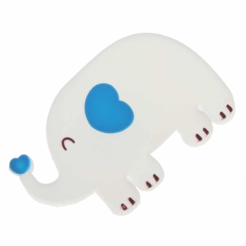 1 Uds. Elefante de dibujos animados lindos auriculares Cable enrollador auricular Cable del auricular organizador de Cable