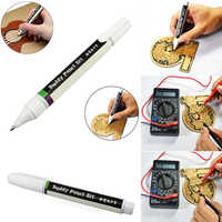 1 Pcs Conductive DIY Ink Pen Dry Fast Electronic Circuit Draw Instantly Tool Flowery LFX-ING