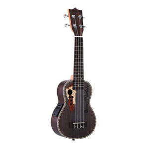 "Image 5 - Ammoon série ululele 21 ""ukulele conjunto 15 traste 4 cordas cordas instrumento musical 19 estilos ukulele"