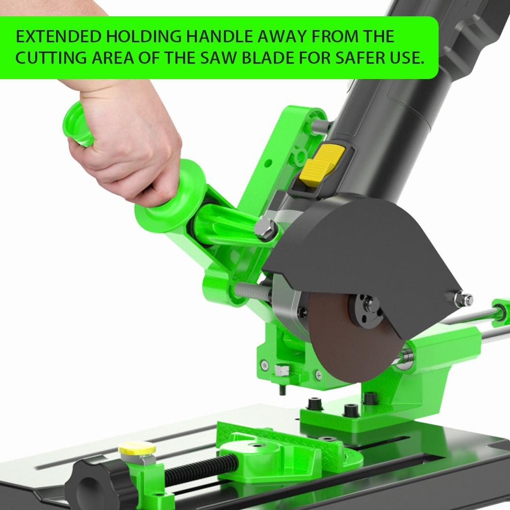 Machine Conversion Grinder Rod Pull Table Desktop Fixed Angle Machine Angle Stand Grinding Machine Polishing Cutting Bracket Saw