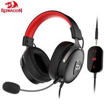 Redragon H520 słuchawki gamingowe mikrofon redukcja szumów 7.1 USB 3.5MM Surround słuchawki komputerowe słuchawki EQ kontroler dla P