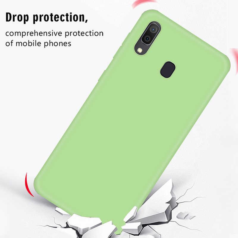 Мягкий чехол из ТПУ/силикона для samsung Galaxy A10 A20 A30 A40 A50 A60 A70 M10 M20 M30 Note8 9 10 Pro цветной защитный чехол в виде ракушки