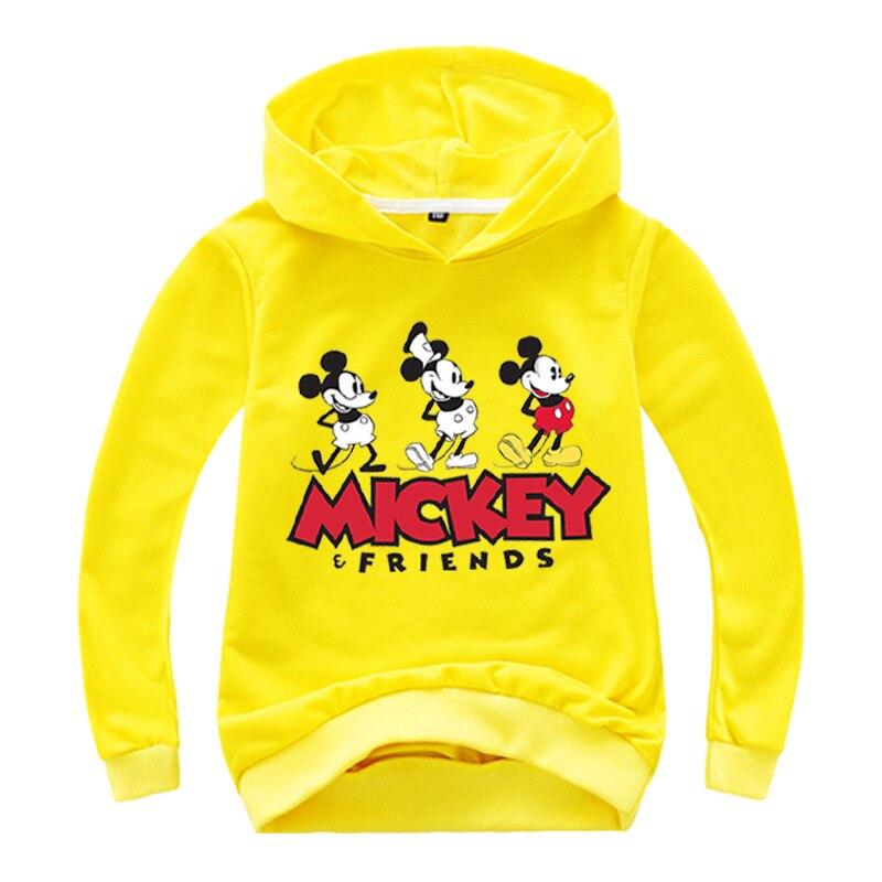 New Autumn mickey minnie mouse Boys Girls casual Sweatshirt Kids Hoodies Long Sleeve Sweatshirt Children Clothes 5