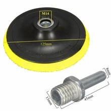 Round Polisher Buffing Backing Kit 3 Inch Polishing Tools Plastic+rubber Accessory Plate Pad M14 Thread Practical(China)