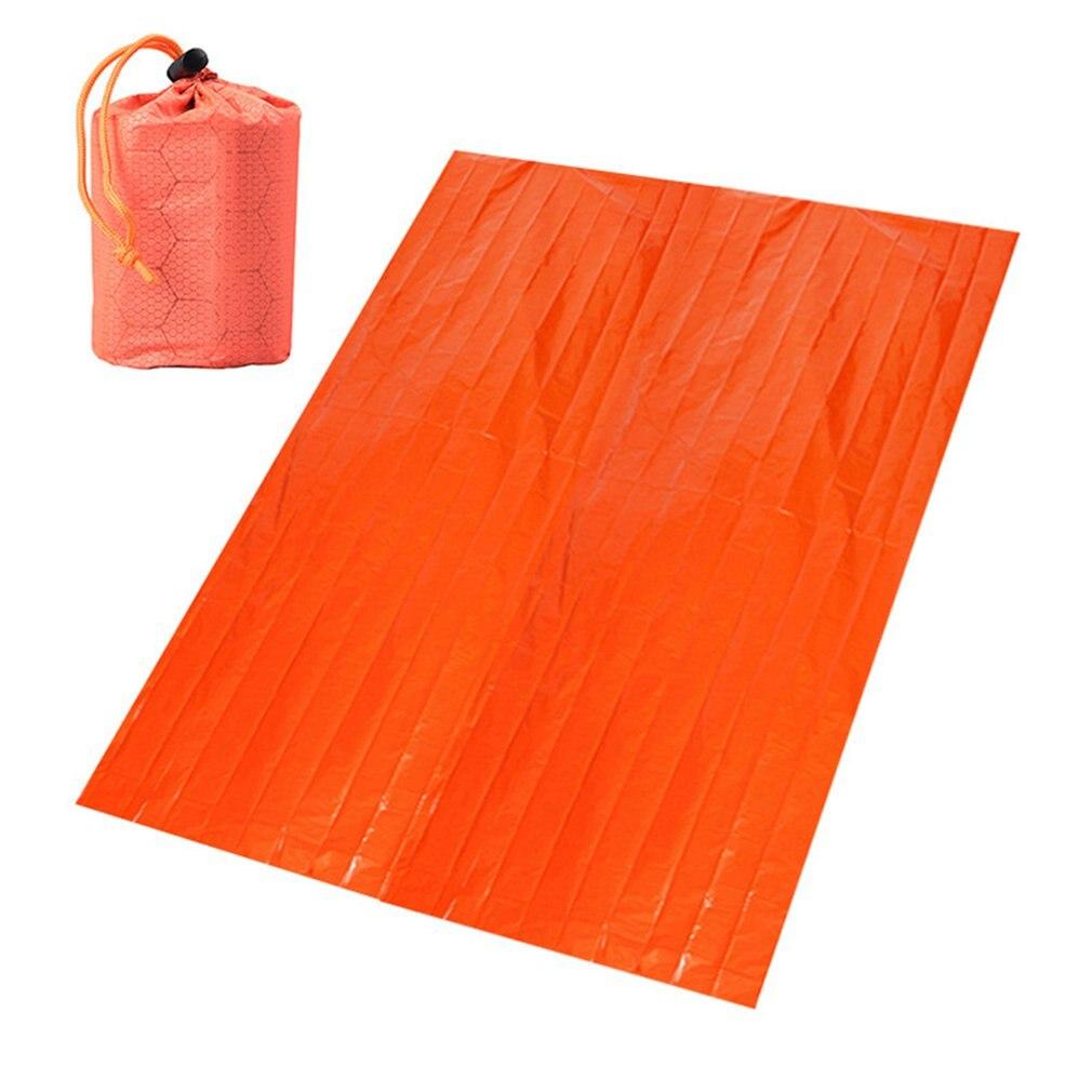 Портативное одеяло с алюминиевой пленкой, аварийное одеяло, выживаемость в пустыне, теплоизоляционное одеяло