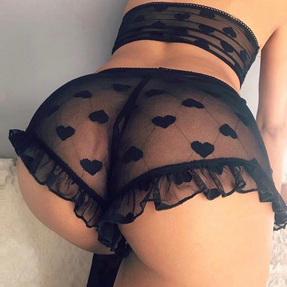2PCS Set Women Lingerie Womens Lace Babydoll Underwear Ladies Nightwear Sleepwear G-string Sets
